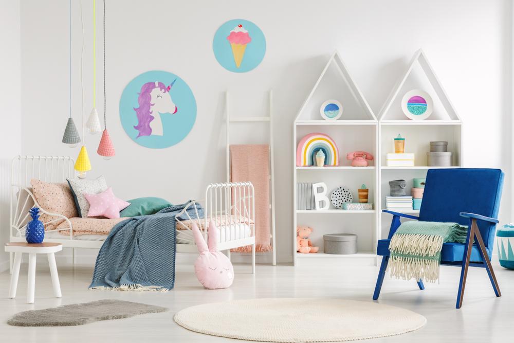 aménager la chambre d'un bébé